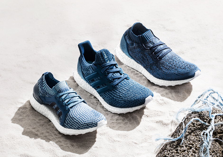 save off 58041 9ad75 The Ultra BOOST X is seen to the left, the Ultra BOOST 3.0 is positioned in  the middle, and the Ultra BOOST Uncaged to the right.